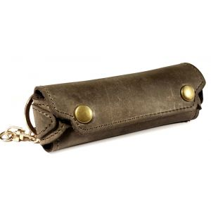 Brown TUFF LUV Genuine /'Western/' Leather rustic coin pouch