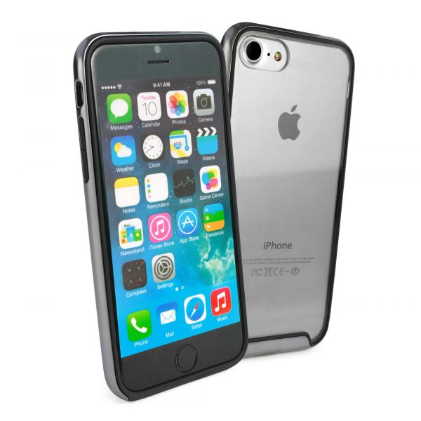 sports shoes e45fe 98dbc 'Essence' Poly-carbonate Bumper Shell Case for Apple iPhone 7 - Space Grey