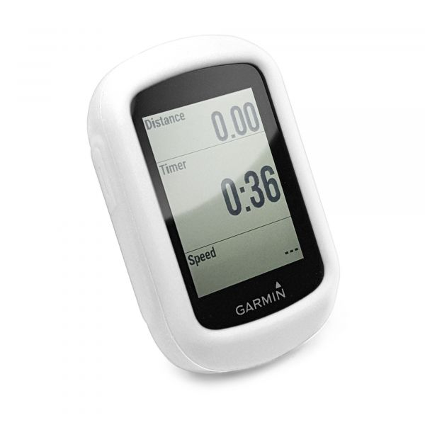 736273c9605 Silicone Protective case for Garmin Edge 130 - White | Tuff-Luv