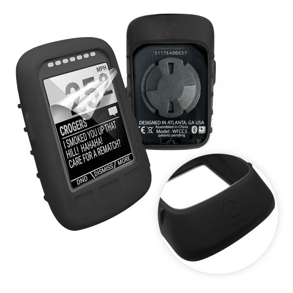 Silicone Case Cover Screen Protectors For Garmin Virb X XE Camera Protective US